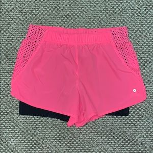 XERSION DOUBLE LINED SHORTS